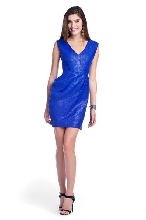 Python Matelasse Dress by Lela Rose