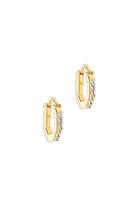 Victoria Hoop Earrings by Elizabeth and James Accessories