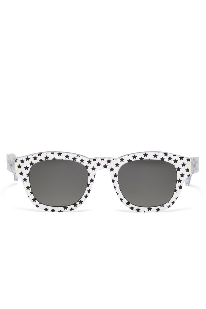 af9f03dbe Silver Stars Sunglasses by Saint Laurent for $55 | Rent the Runway