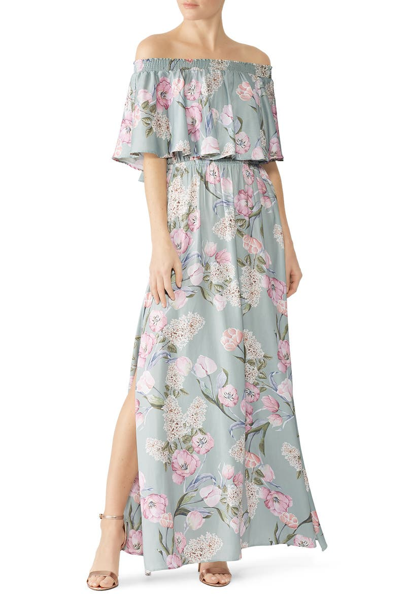 07b4e8f86f7 Primavera Floral Hacienda Maxi by Show Me Your Mumu for  30 -  53 ...