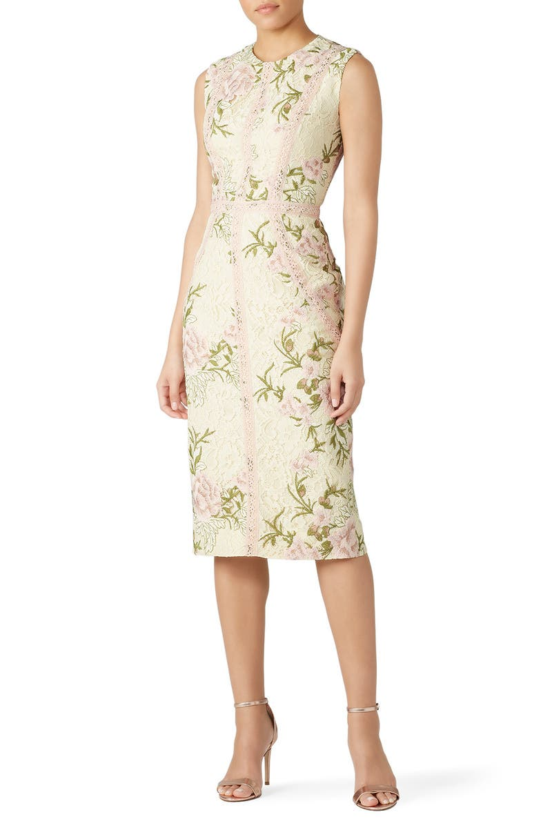 be45cfc1bd797 Penelope Lace Sheath by Dress The Population for $30 - $45 | Rent the Runway