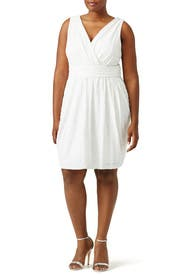 White Fifth Avenue Showstopper Dress by Badgley Mischka for $50 ...