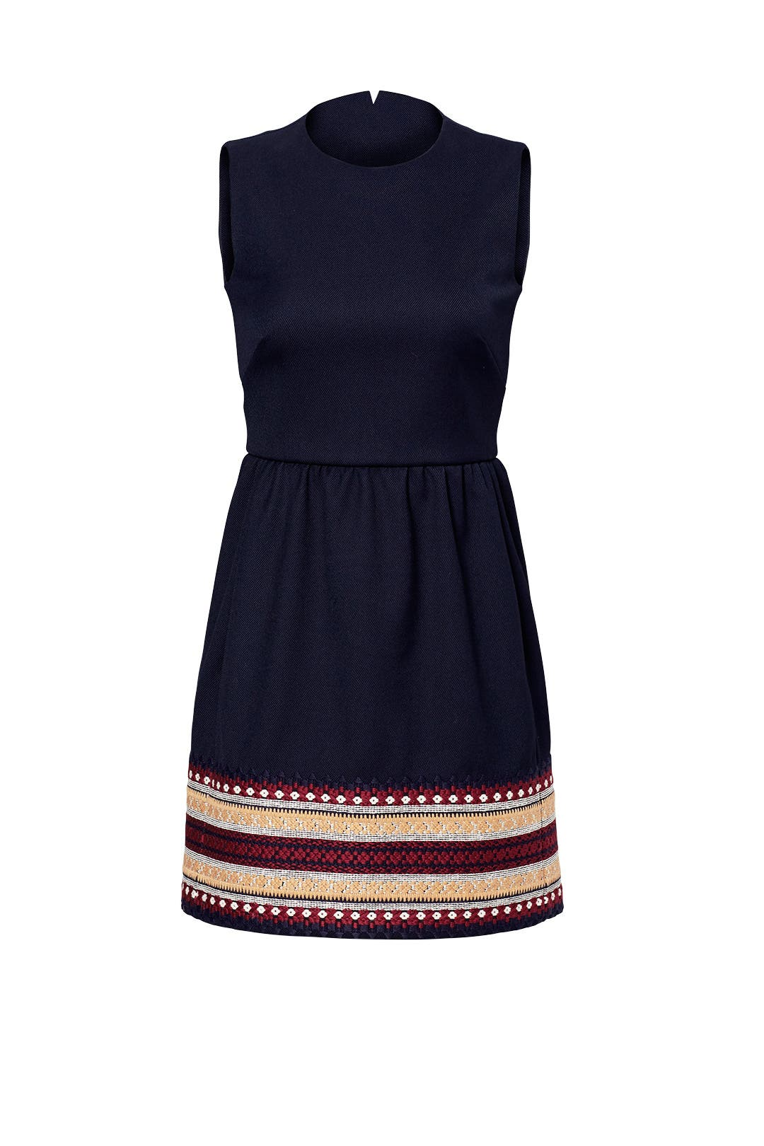Dress for Women, Evening Cocktail Party On Sale, Red Valentino, Cobalt, Silk, 2017, 10 8 Valentino