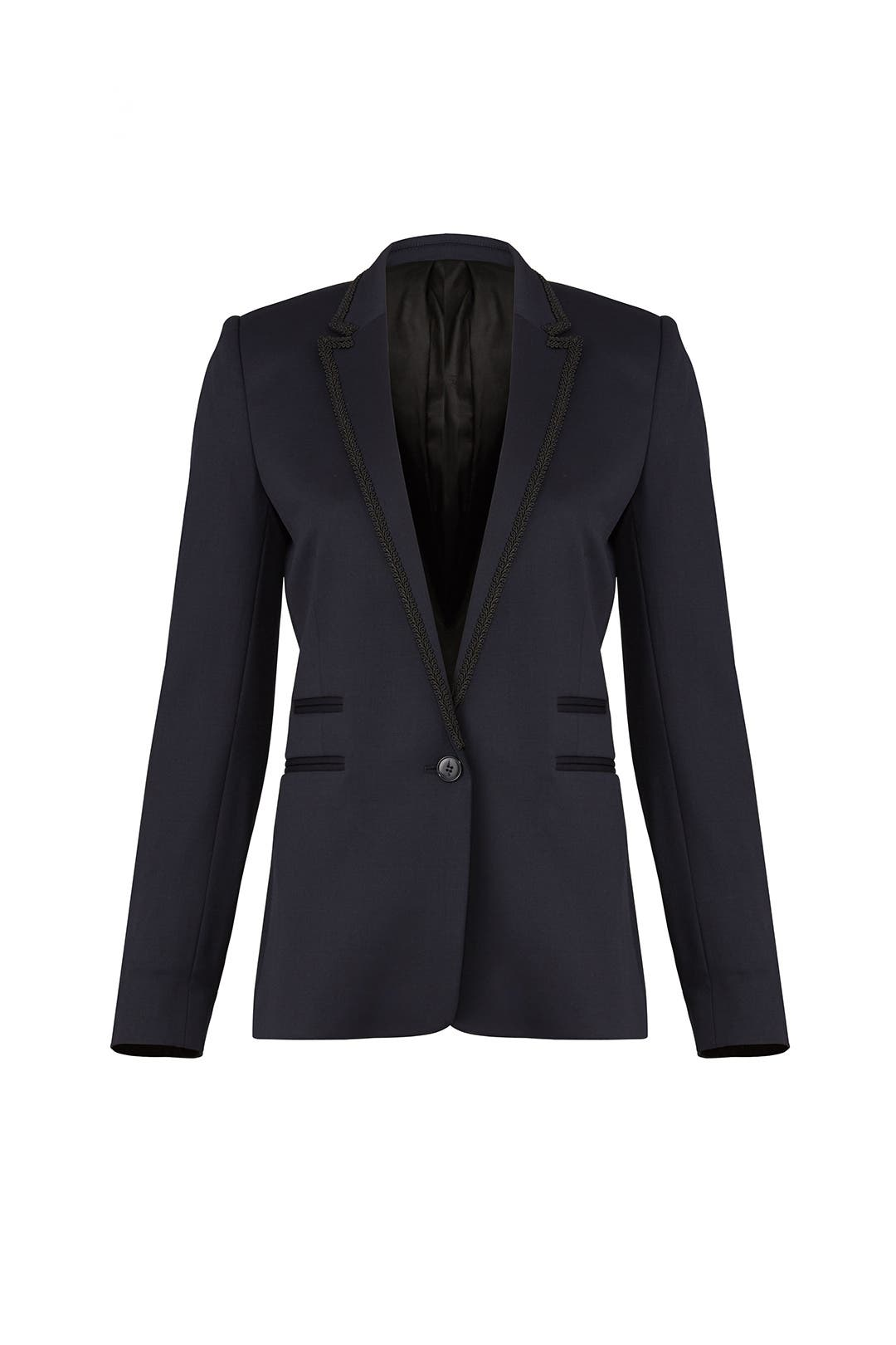 93764edd52 Navy Suit Jacket by The Kooples for $95 | Rent the Runway