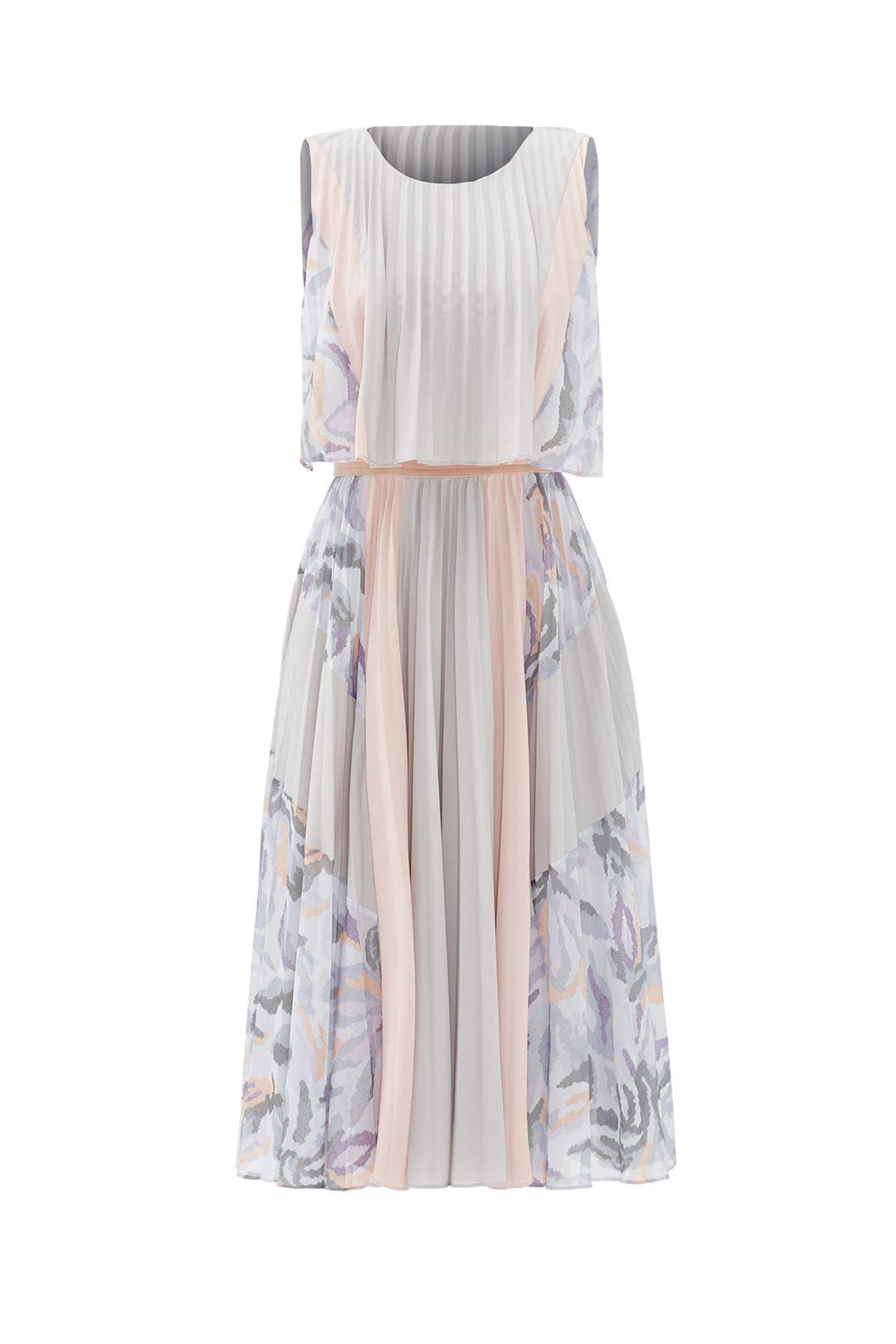 Ola Pleated Dress by BCBGMAXAZRIA for $45 - $65 | Rent the Runway