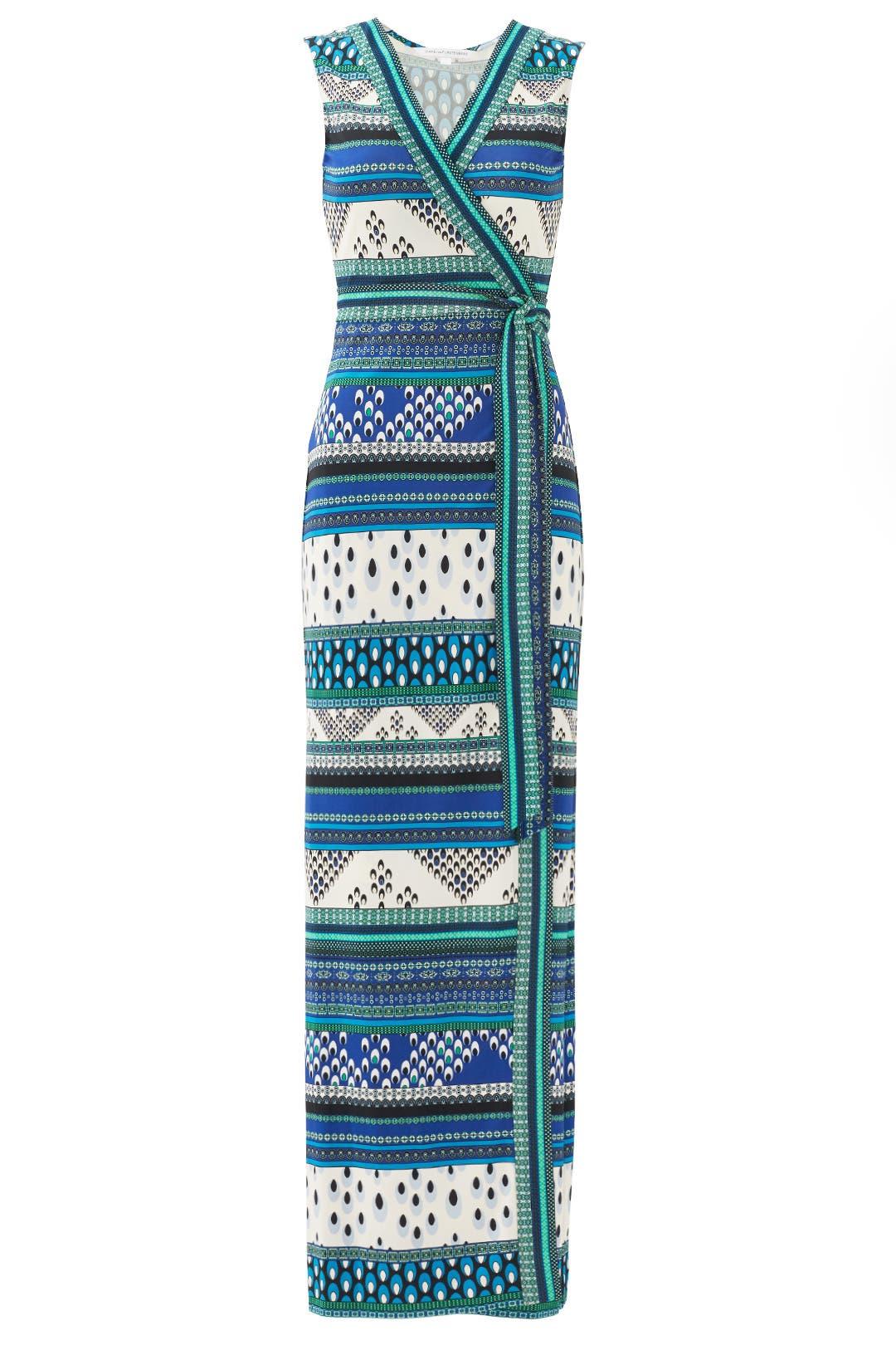 New Yahzi Maxi Wrap Dress by Diane von Furstenberg for $55 - $75 ...