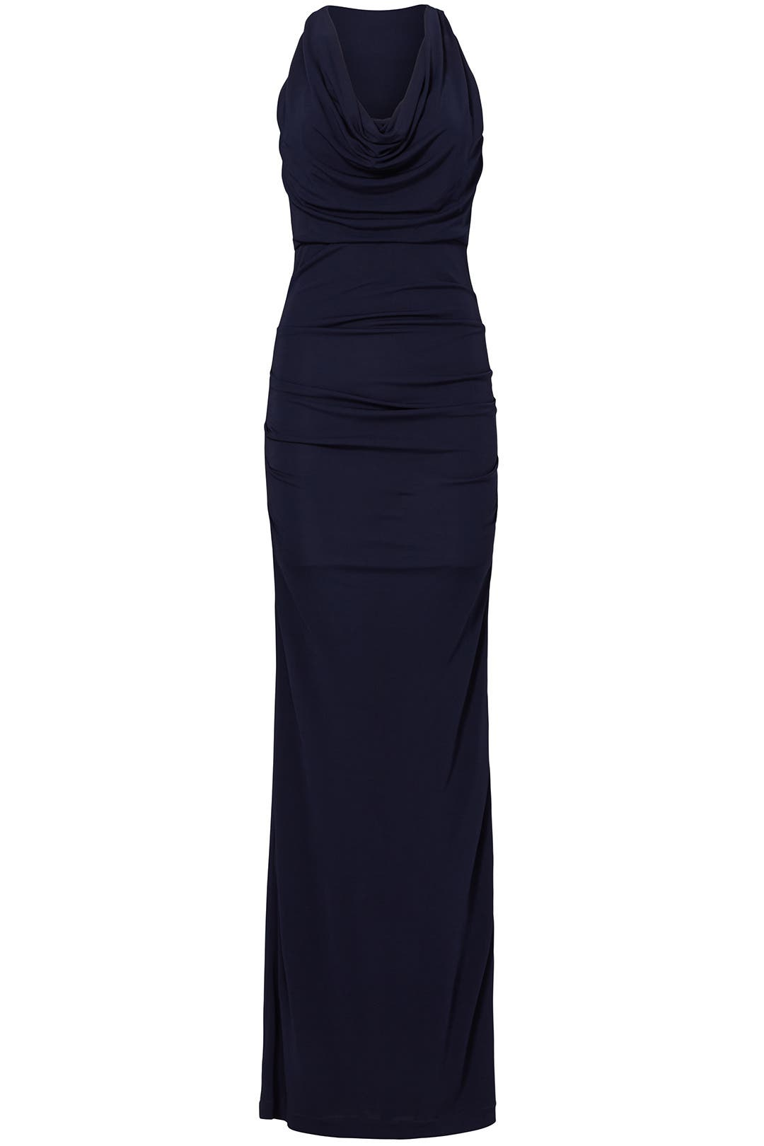 Navy Column Gown by Cut 25 for $70 - $100 | Rent the Runway