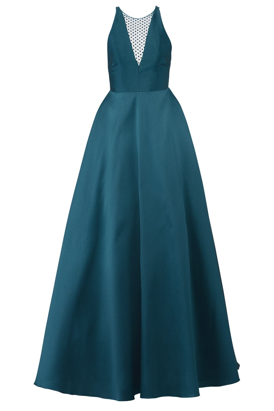 Teal Mesh Ball Gown by ML Monique Lhuillier for $105 | Rent the Runway