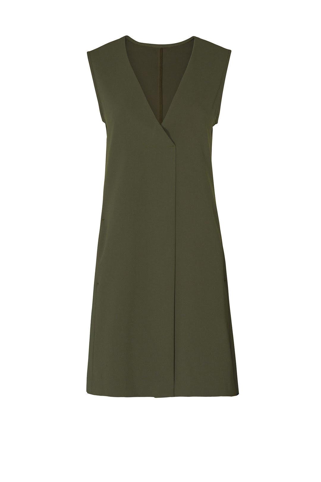 9ce54a41824 Fifteen Twenty. Read Reviews. Olive Pleat Front Dress