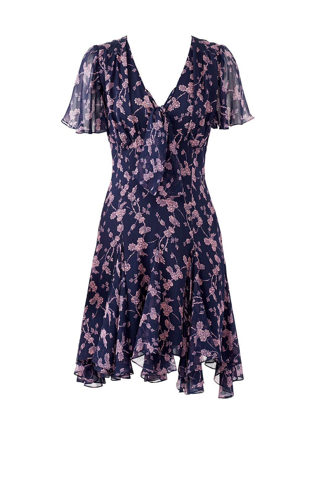 Floral Annali Dress by Cinq à Sept for $95 | Rent the Runway