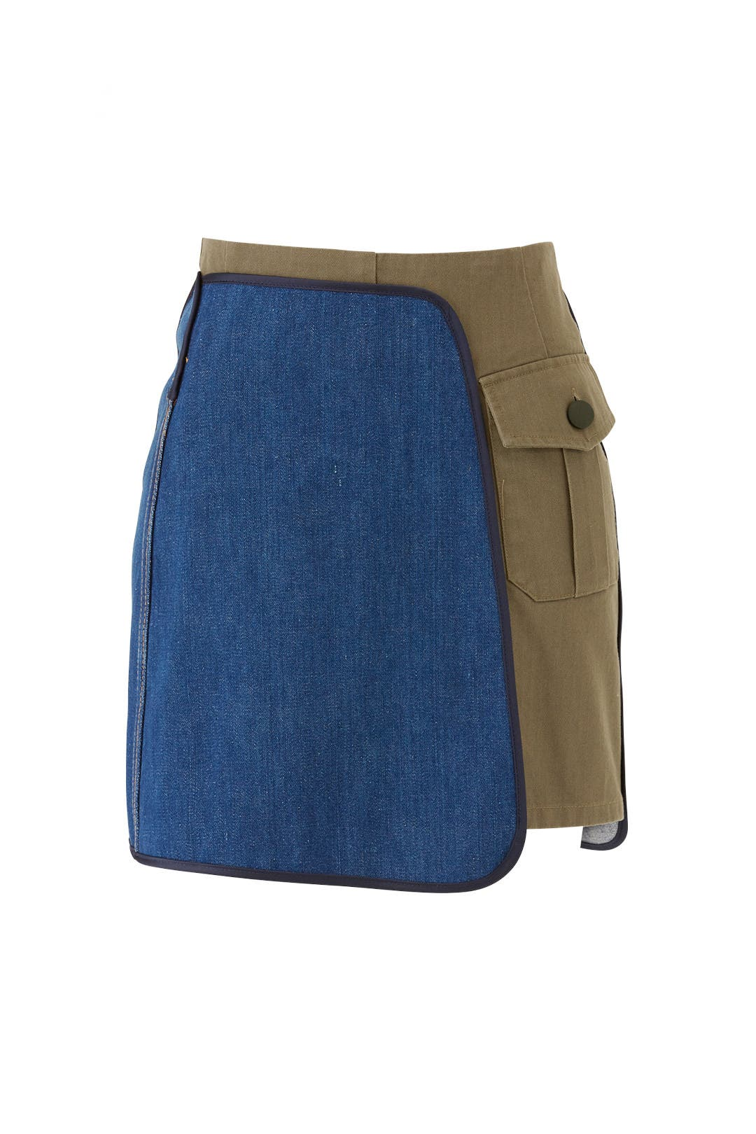 0a2db4b4b5333 Vintage Denim Hybrid Skirt by Harvey Faircloth for $75 | Rent the Runway