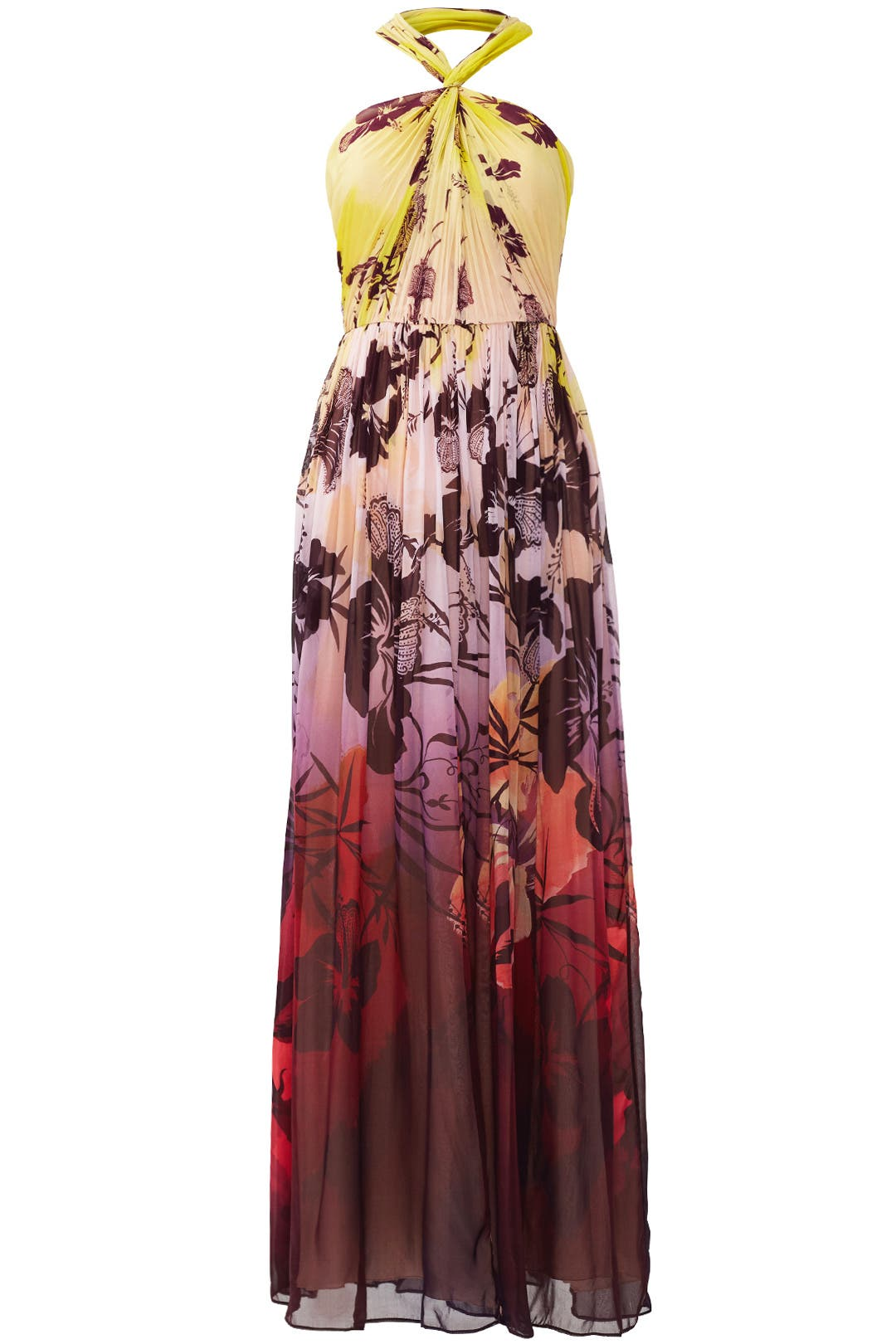Tropical Sunrise Gown by Matthew Williamson
