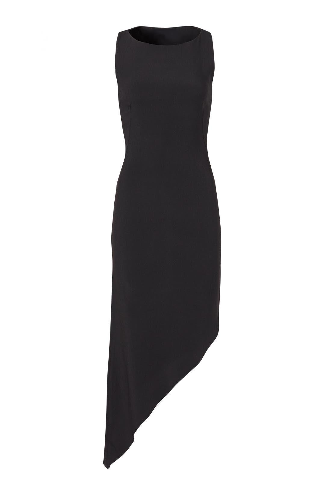 f8bc6be23a3 Black Zandra Slash Dress by Osman for  150
