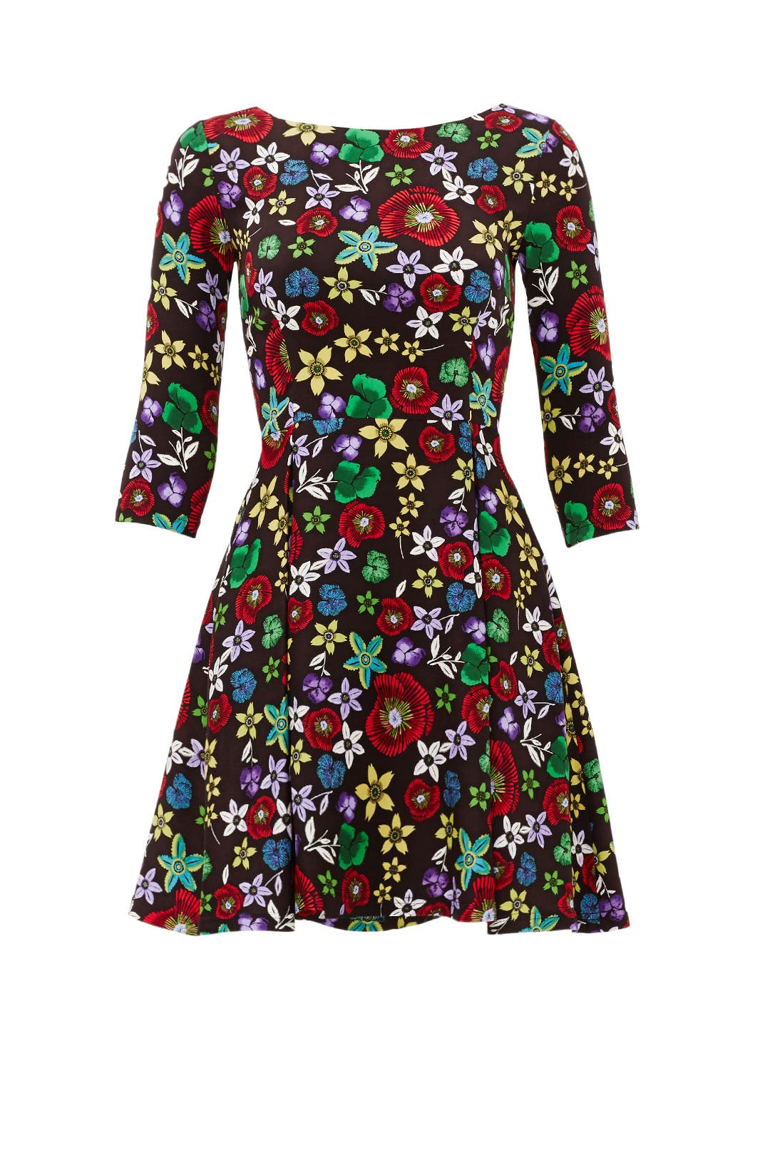 Black Floral Dress by Suno for $90  Rent the Runway