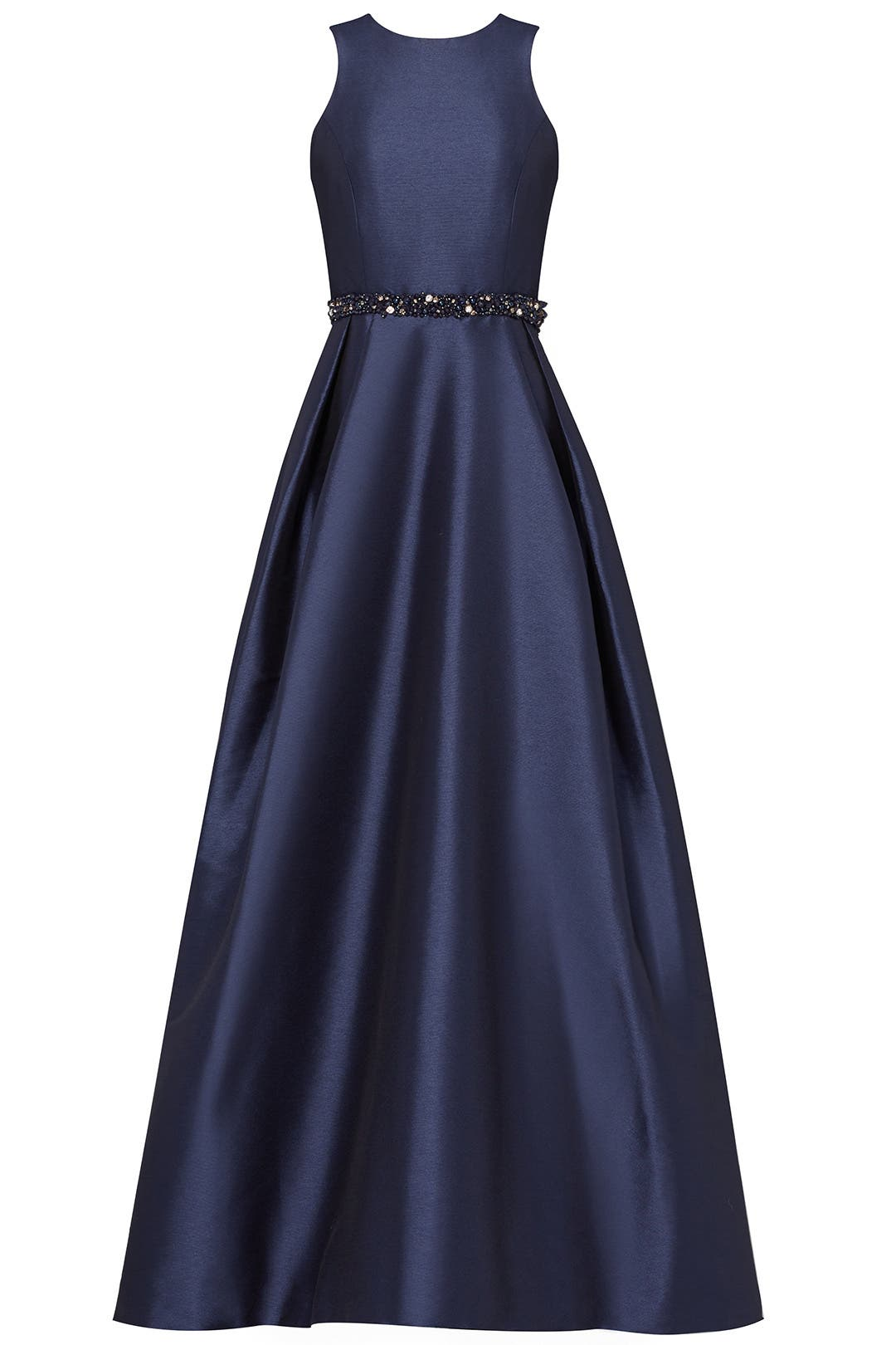 Navy Jadore Gown by ML Monique Lhuillier for $95 | Rent the Runway