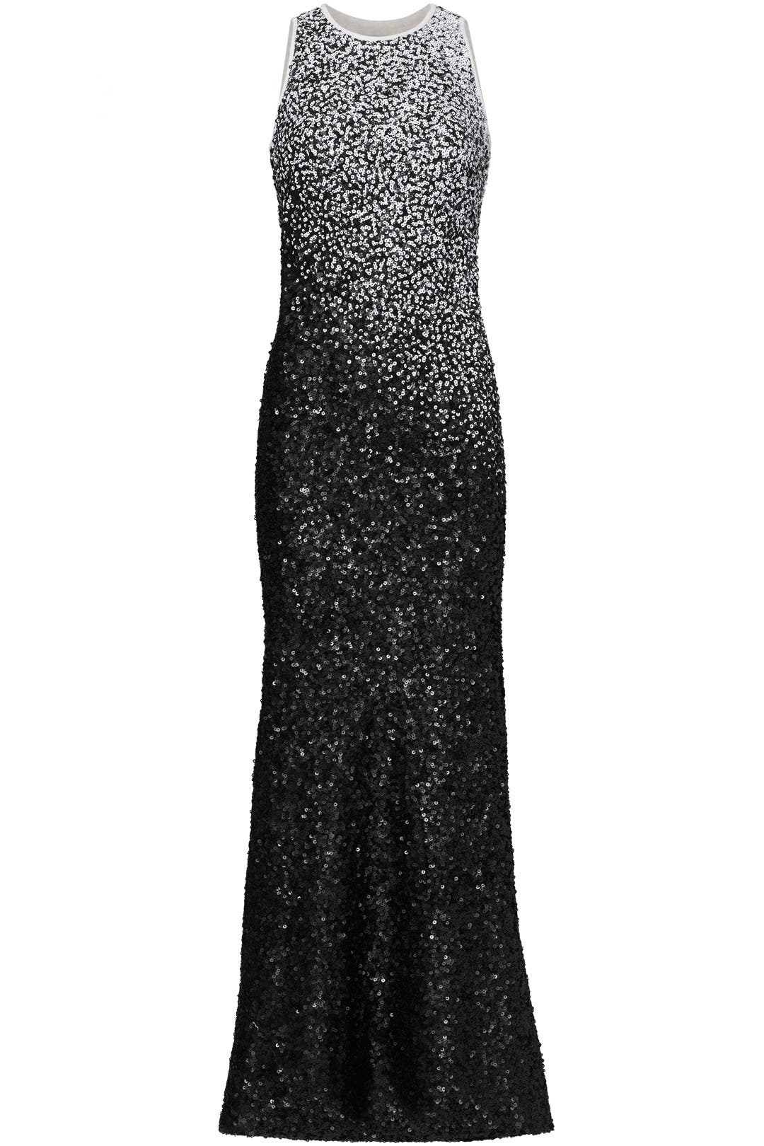 Ombre Sequin Gown by Carmen Marc Valvo for $155 - $175 | Rent the Runway