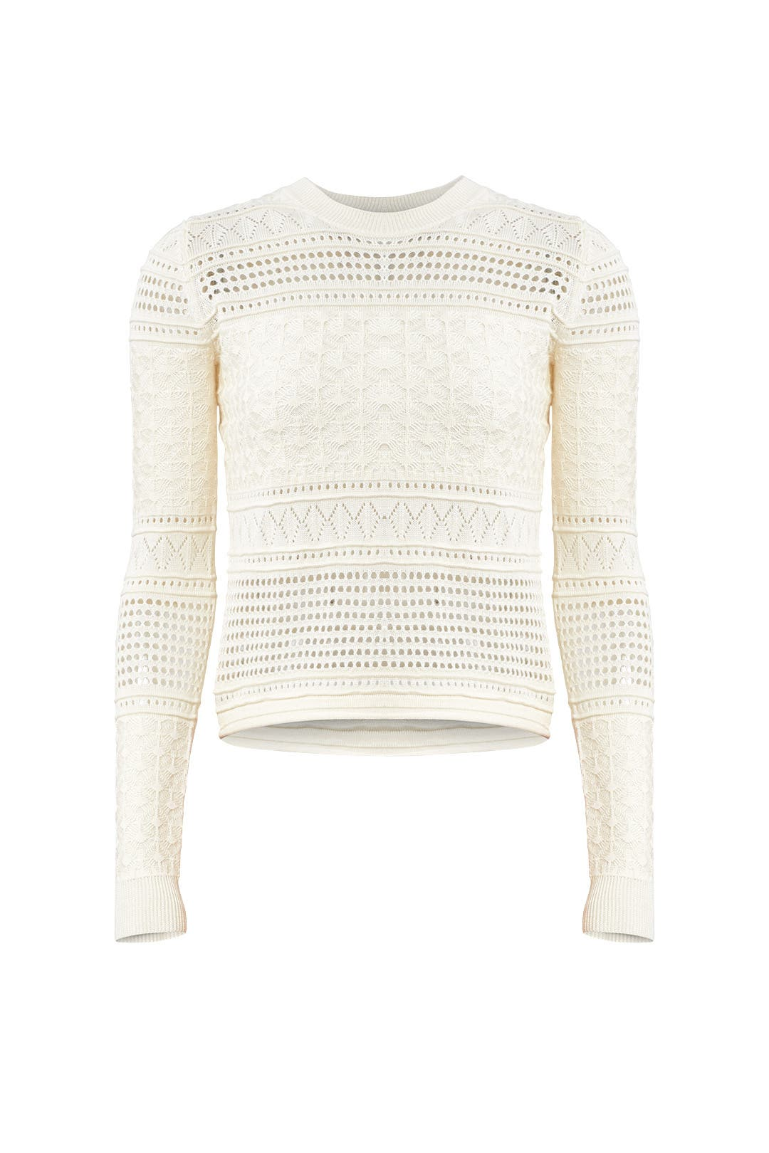 Ivory Pullover Sweater by Derek Lam 10 Crosby for $70   Rent the ...