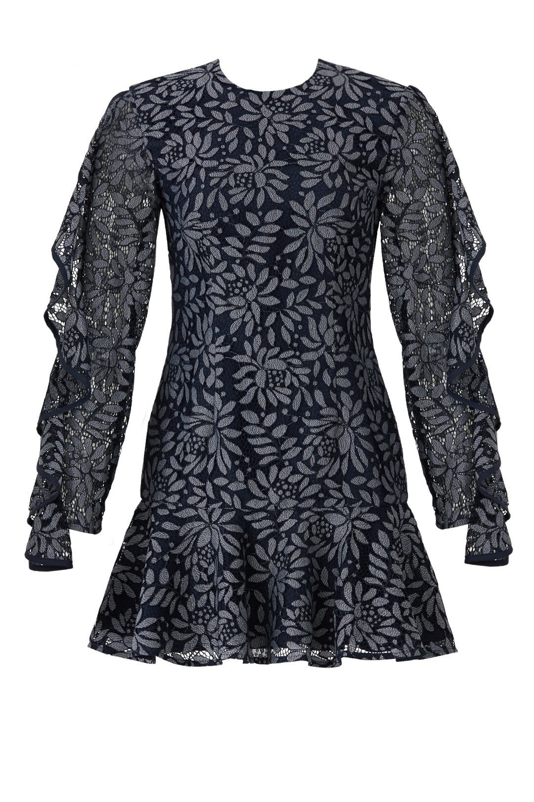Keepsake I Will Wait Lace Dress Going Out   Body Con