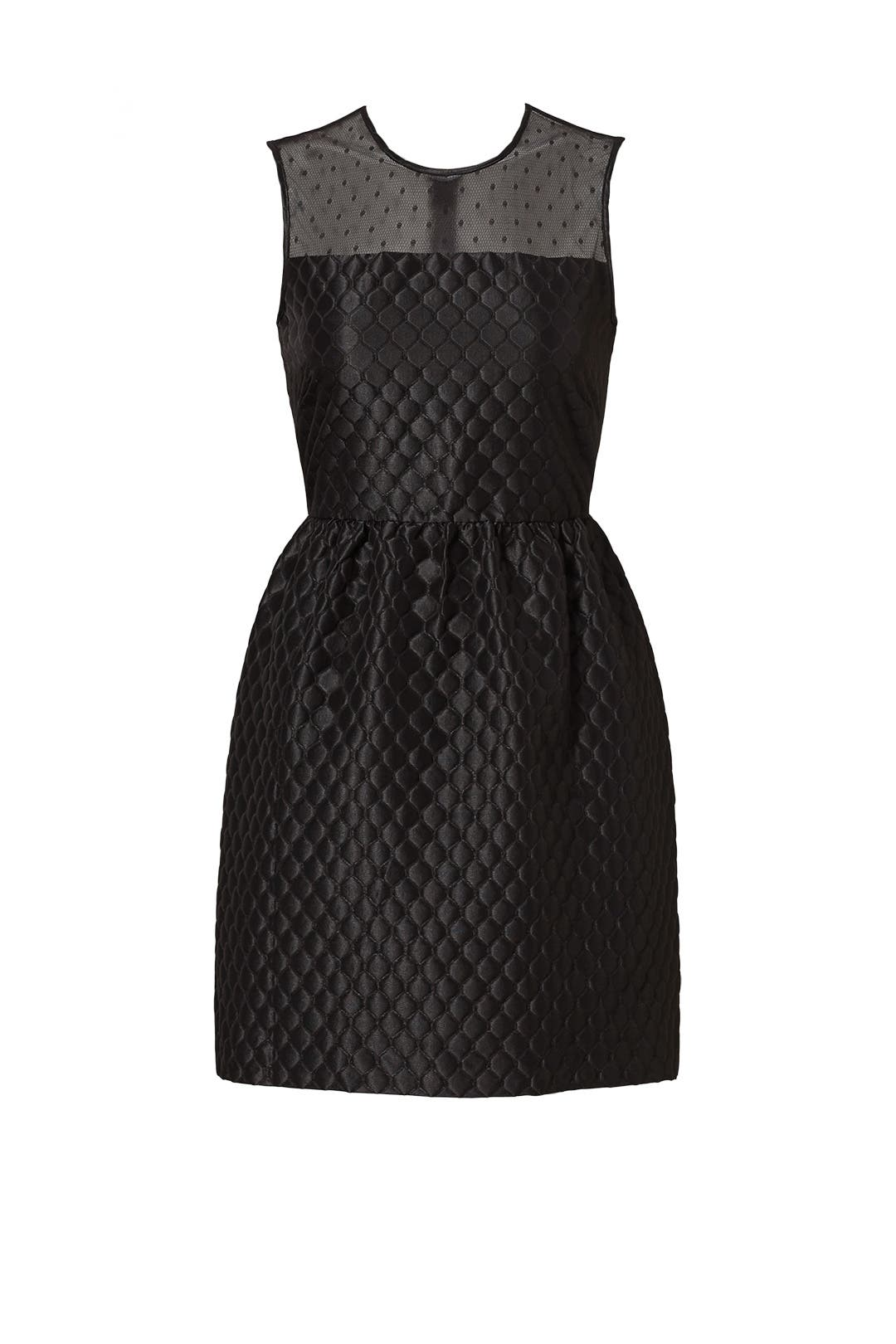 Dress for Women, Evening Cocktail Party On Sale, Black, polyestere, 2017, 10 12 Valentino