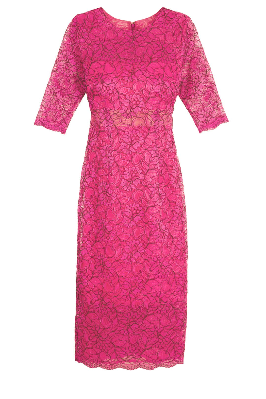 Sheer Lace Sheath by ML Monique Lhuillier for $86 | Rent the Runway