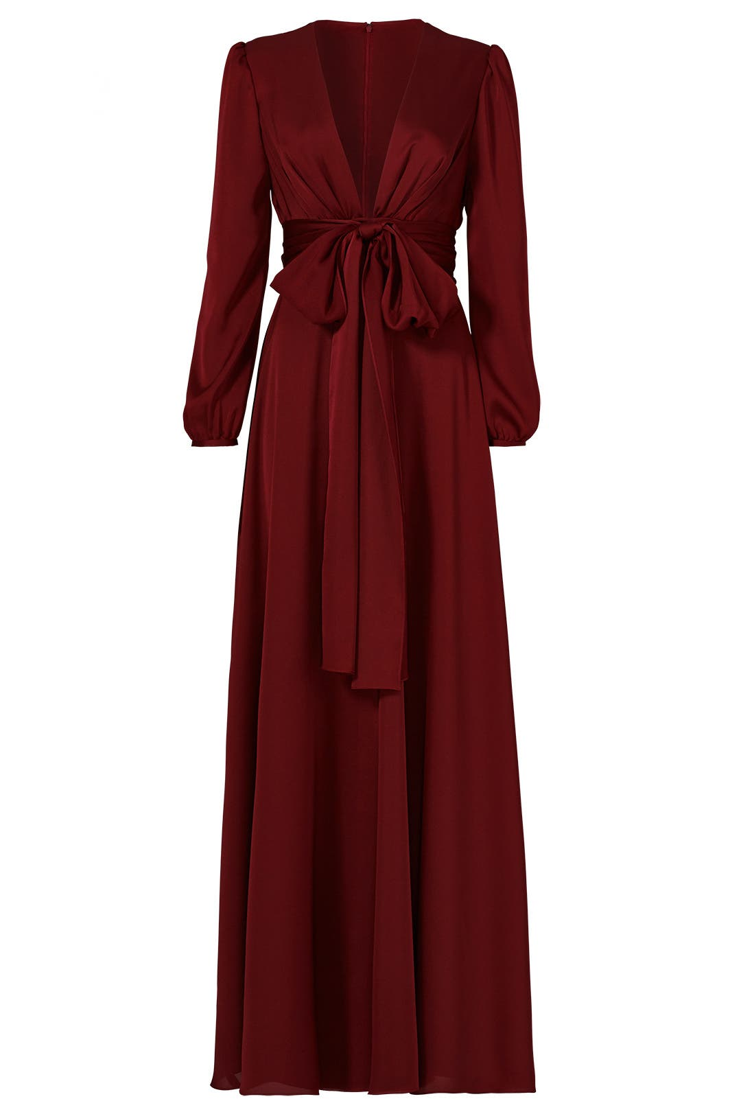 A line red dress manor