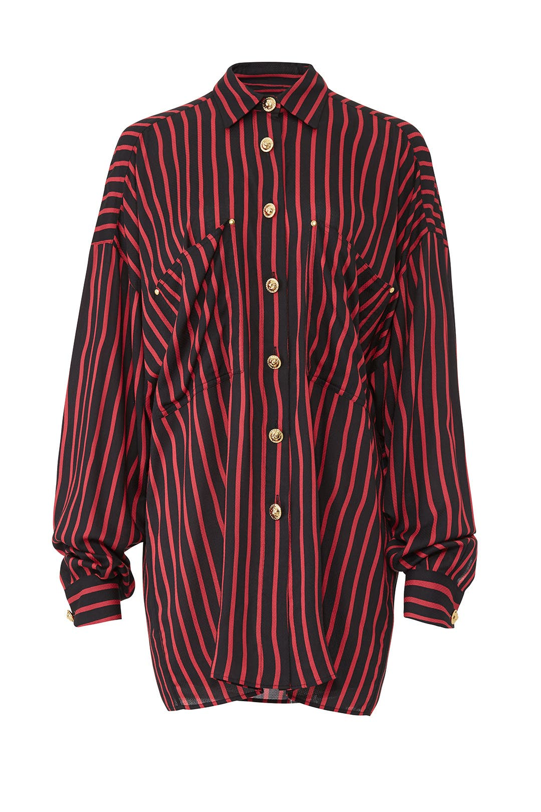 58c78c11c79 Oversize Stripe Shirt by The Kooples for $40 | Rent the Runway