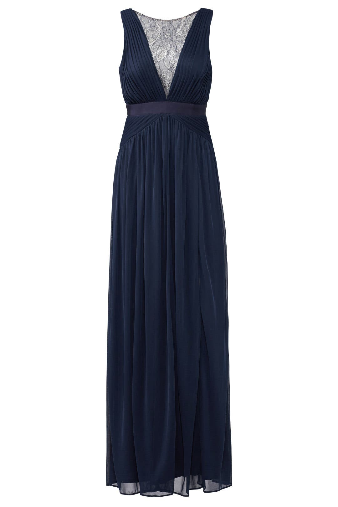 Midnight Illusion Gown by Adrianna Papell for $40 - $60 | Rent the ...