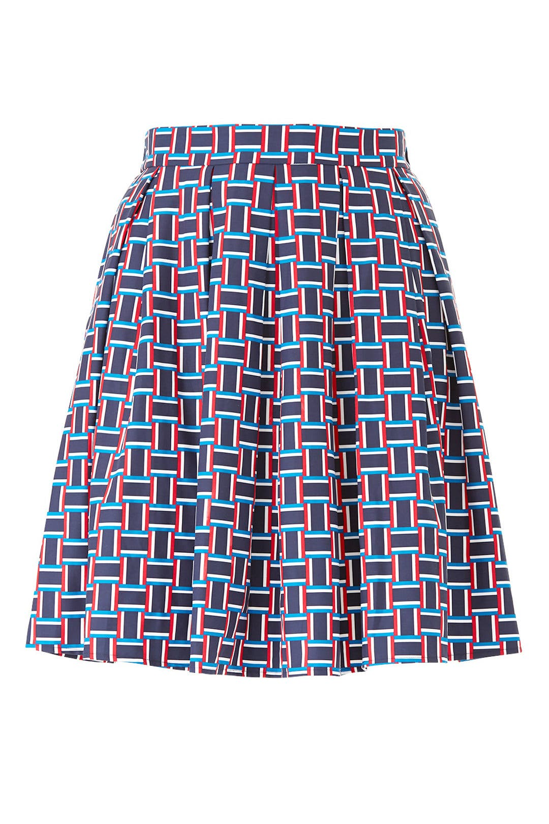 c0d8f9d6a3fc6 Geo Pleated Skirt by Draper James X ELOQUII for  30