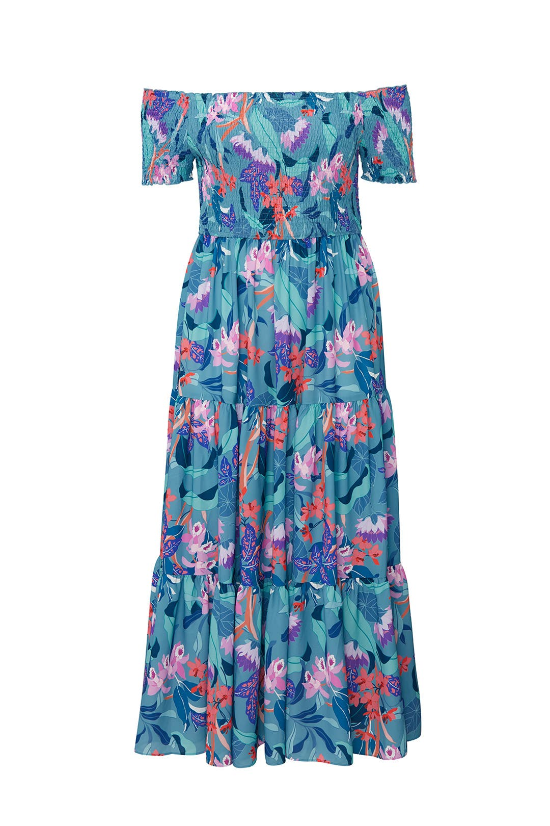 56c80346d Rent The Runway Floral Maxi Dress - Aztec Stone and Reclamations