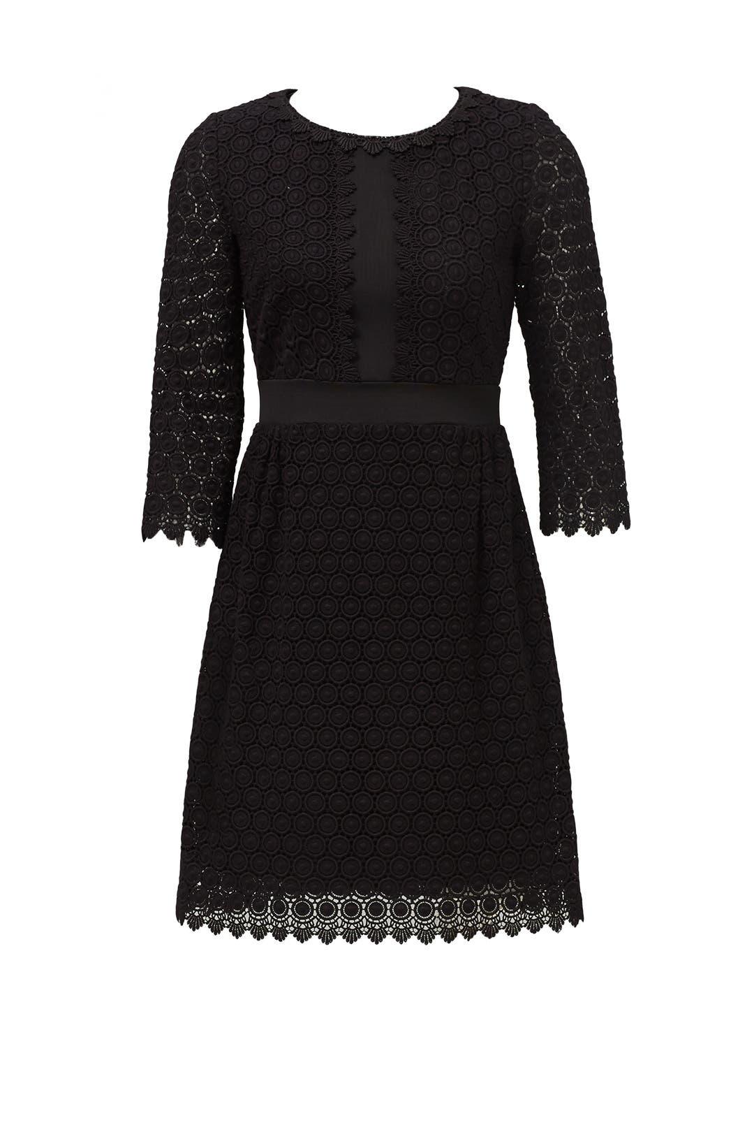 Black Nolly Dress by Diane von Furstenberg for $90 | Rent the Runway