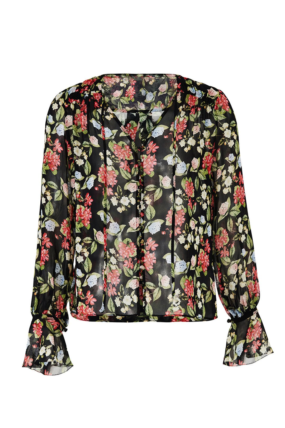cfae97fd5013 Black Evie Floral Blouse by Nicholas for  70