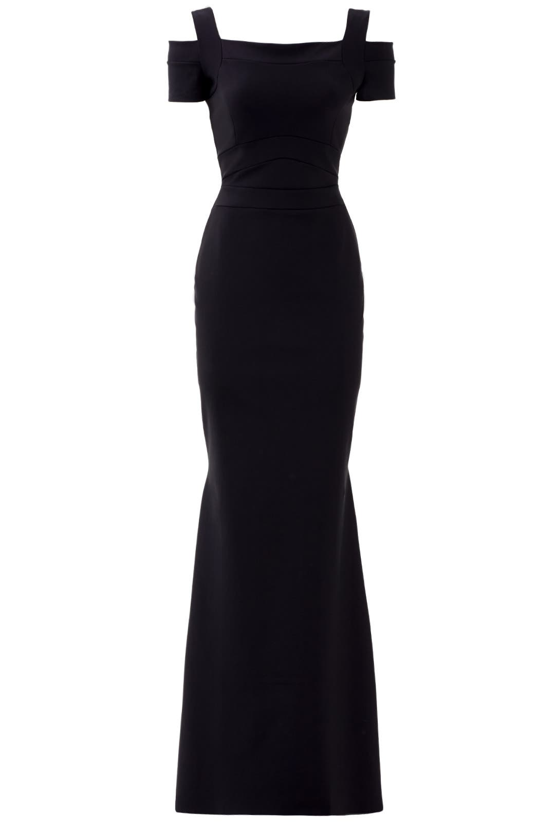 Black Jenna Gown by La Petite Robe di Chiara Boni for $130 - $150 ...