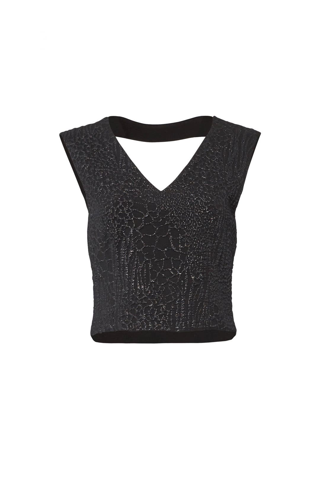 23dc735a0c1c Animal Jacquard Top by Nicole Miller for  45