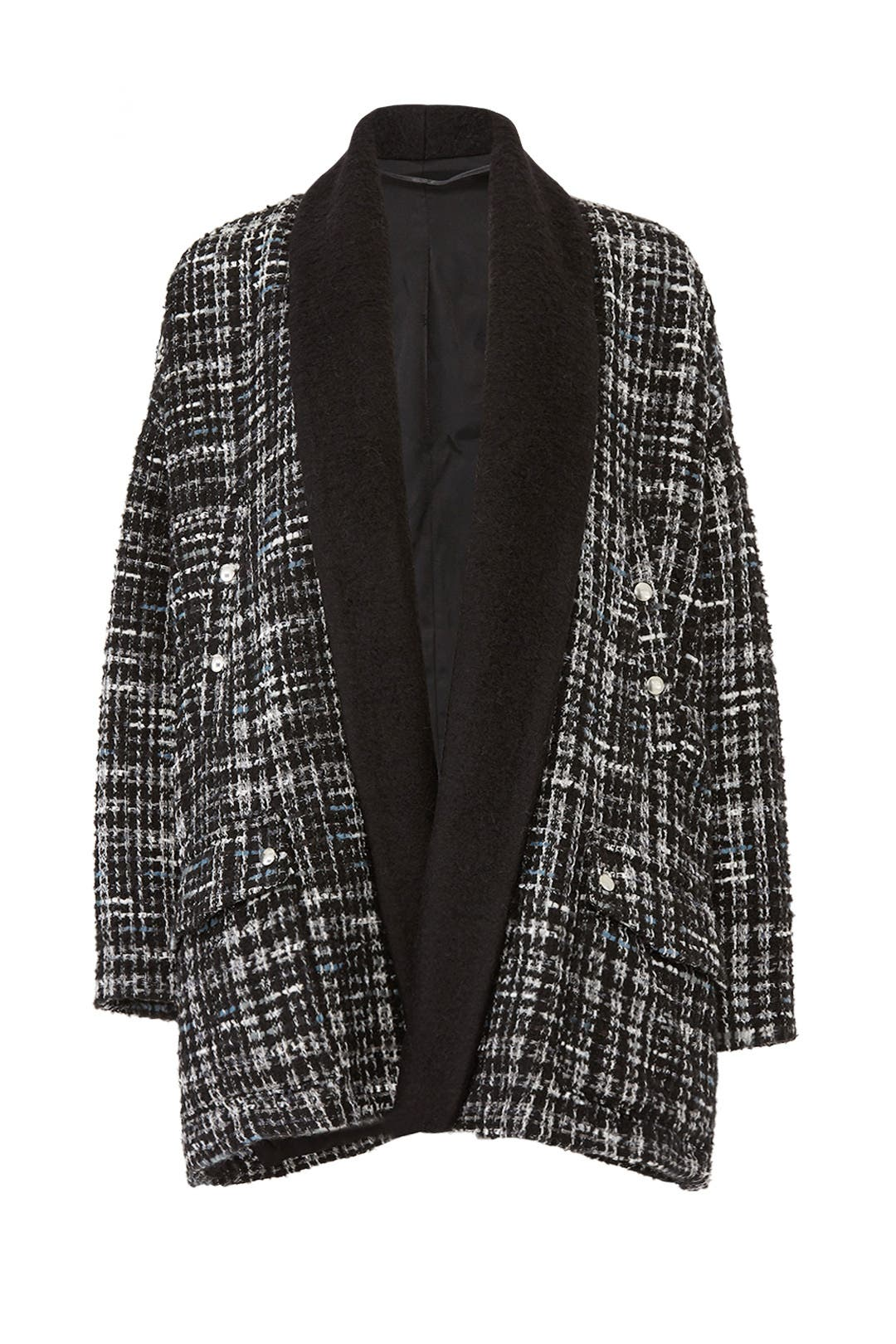 96b7d6b13 Holly Tweed Sweater Coat by The Kooples for  85