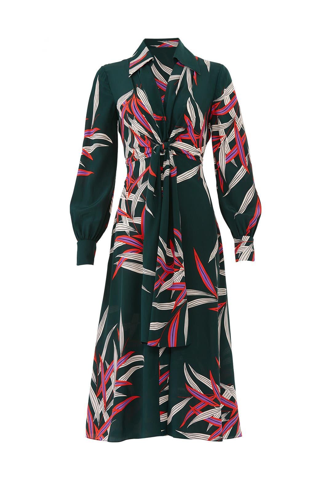 5bad223e2aaff Quincy Von Silk Dress by Diane von Furstenberg for $80 | Rent the Runway