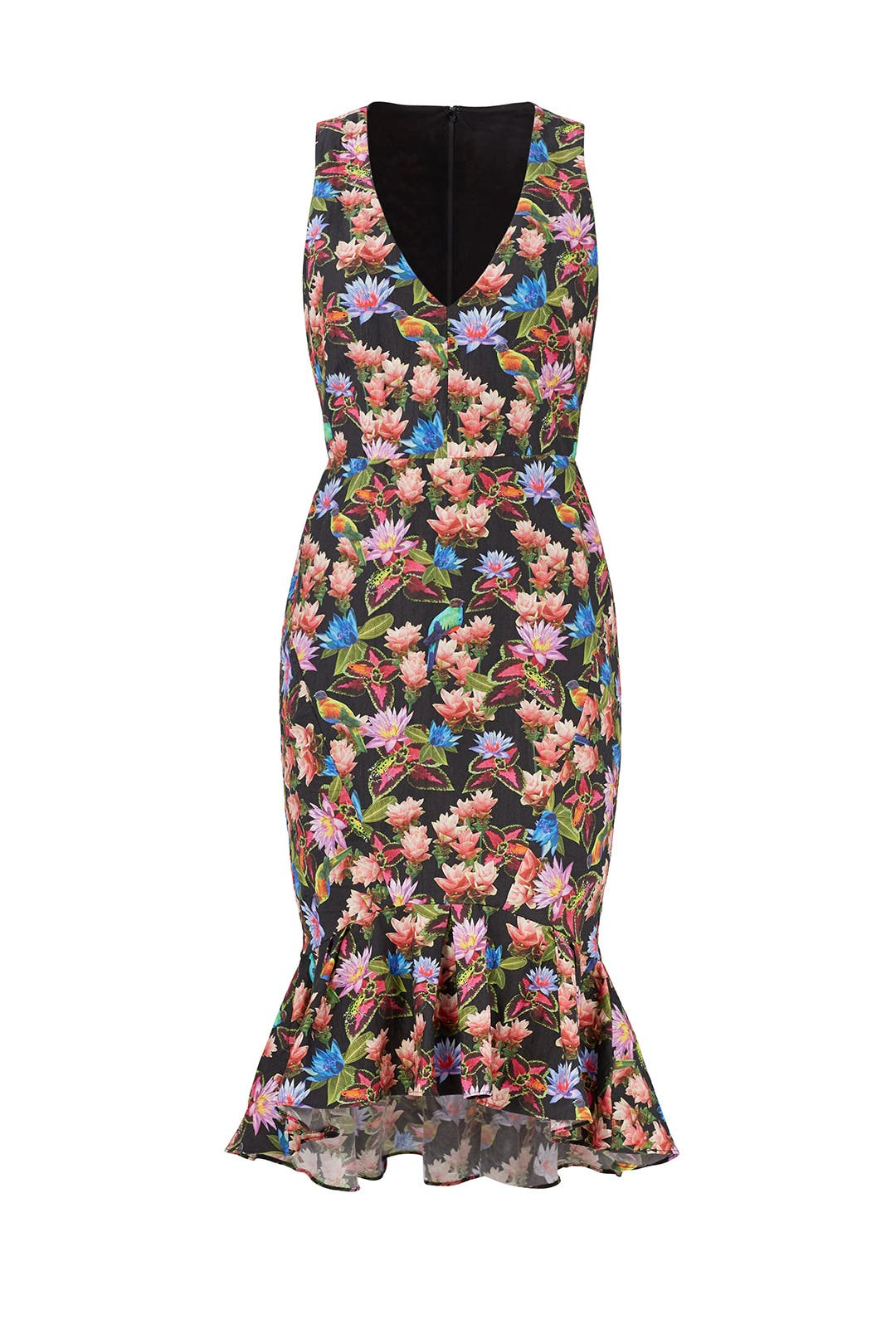 printed fitted dress - Blue Nicole Miller CmMP7