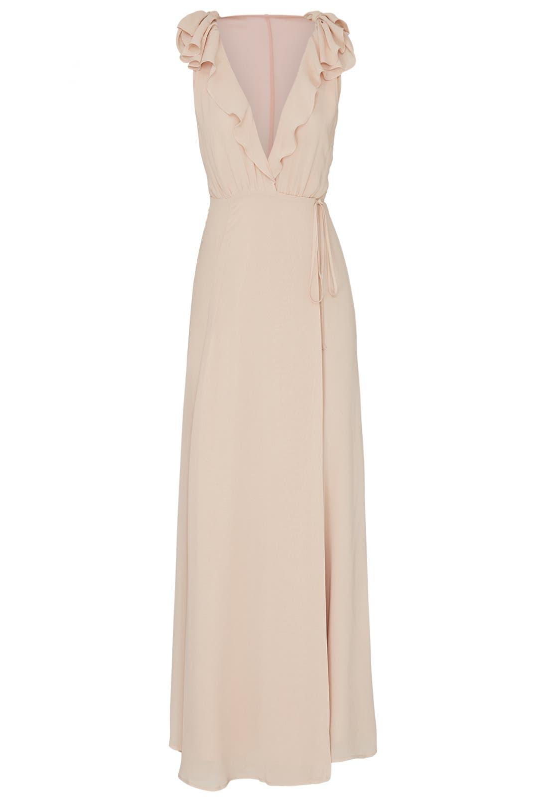 a1f6bb0daa90 Champagne Peppermint Dress by Reformation for $45 - $60 | Rent the Runway