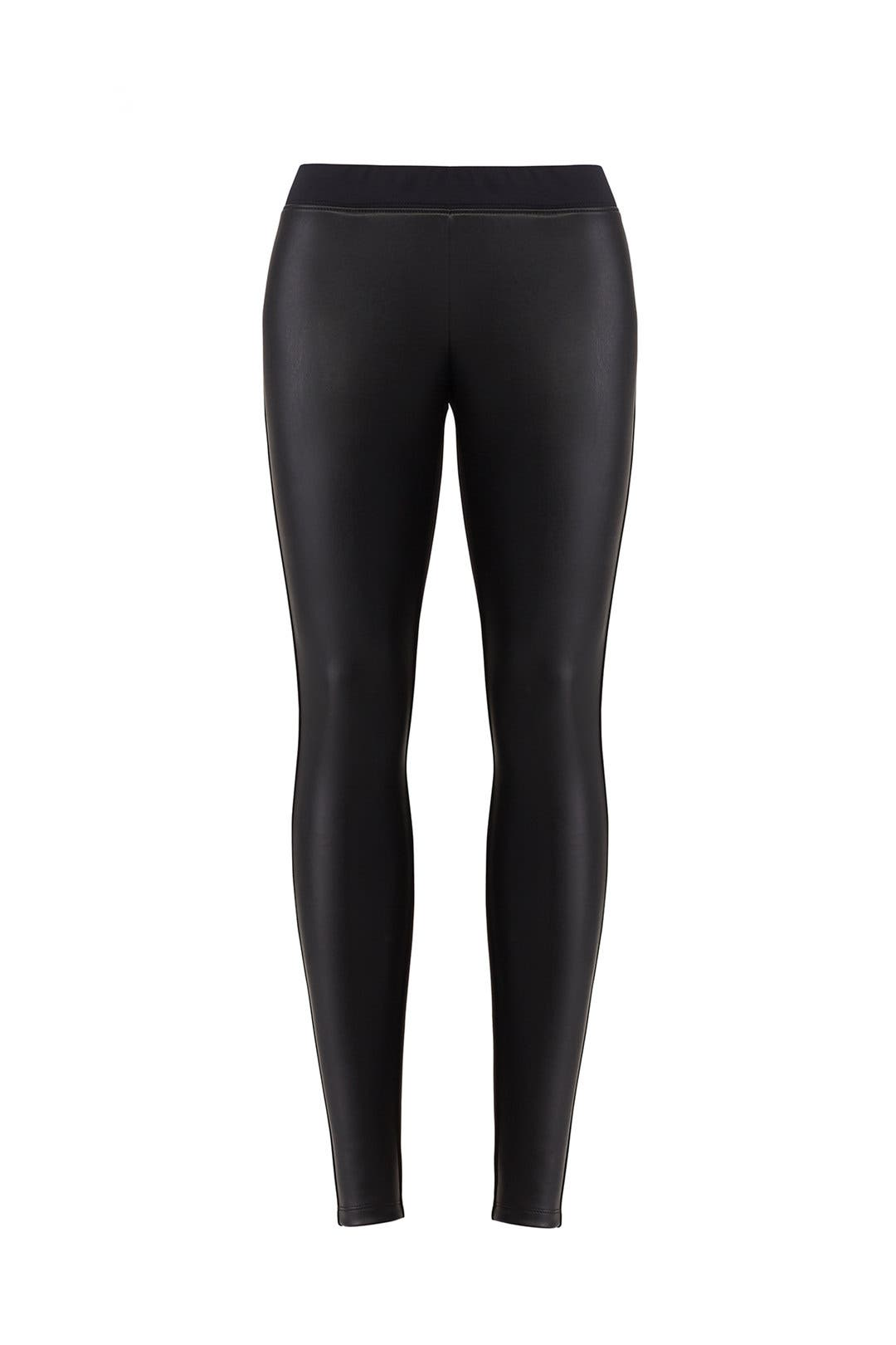 b69556cf5f8b9 Faux Leather Maternity Leggings by Ingrid & Isabel for $30 | Rent ...
