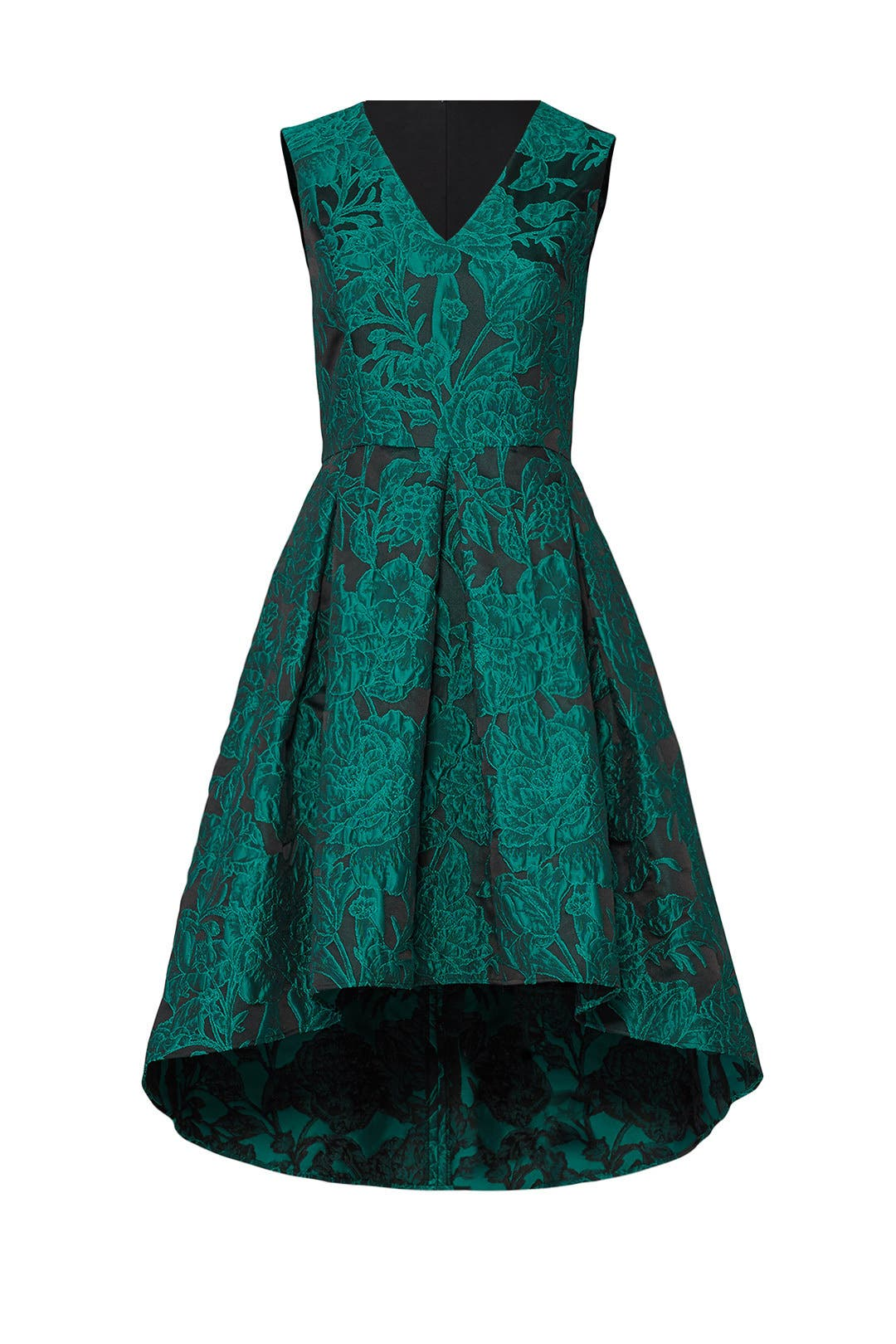 Green Gabi Dress by Slate & Willow for $30 - $35 | Rent the Runway
