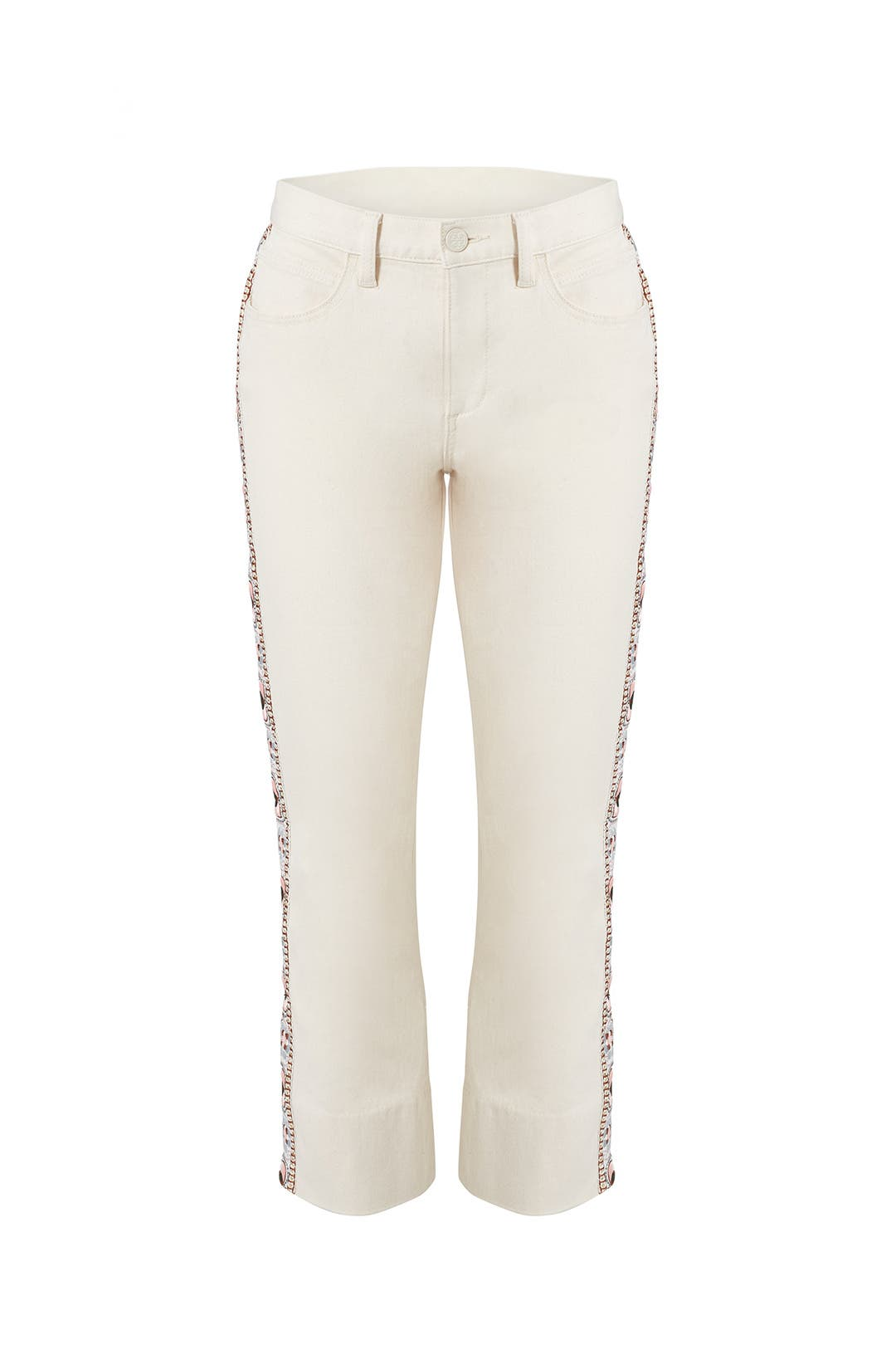 4c66ec13ebb Sandy Cropped Jeans by Tory Burch for  50