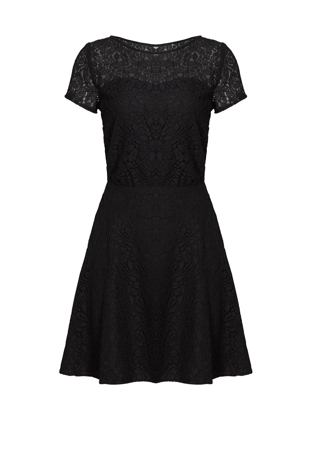 Black Lace Jolene Dress By Slate Amp Willow For 45 Rent