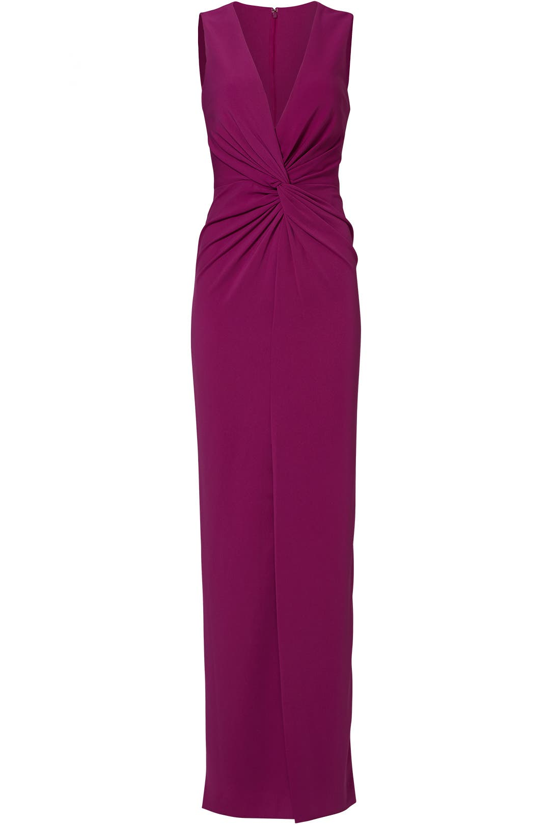 Orchid Twist Front Gown by Badgley Mischka for $70 - $90 | Rent the ...