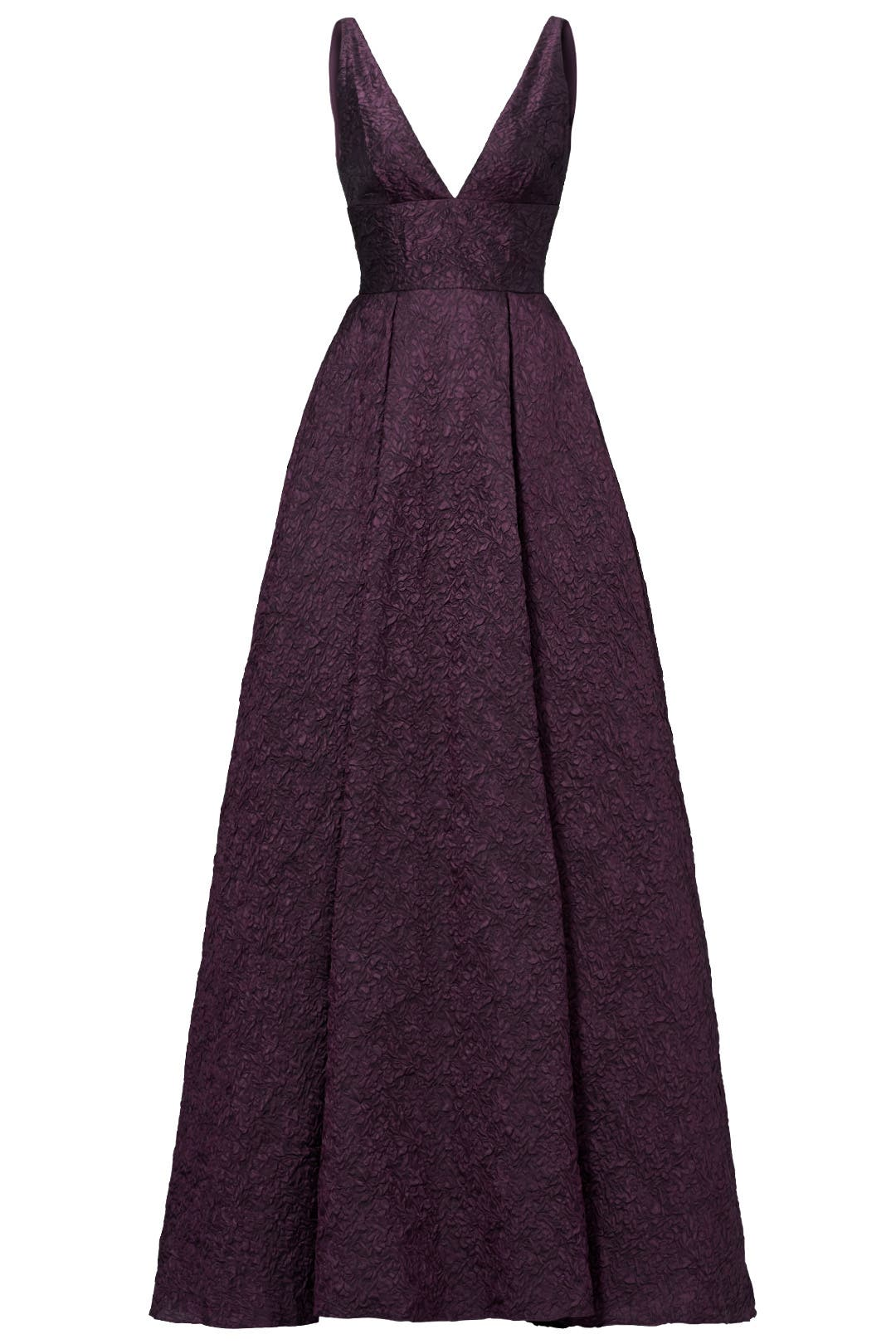 Burgundy Center Stage Gown By Ml Monique Lhuillier For