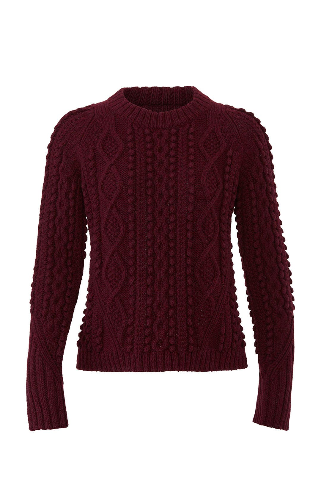 2539d6614b65e1 Popcorn Cable Wool Pullover by 3.1 Phillip Lim for $85 | Rent the Runway