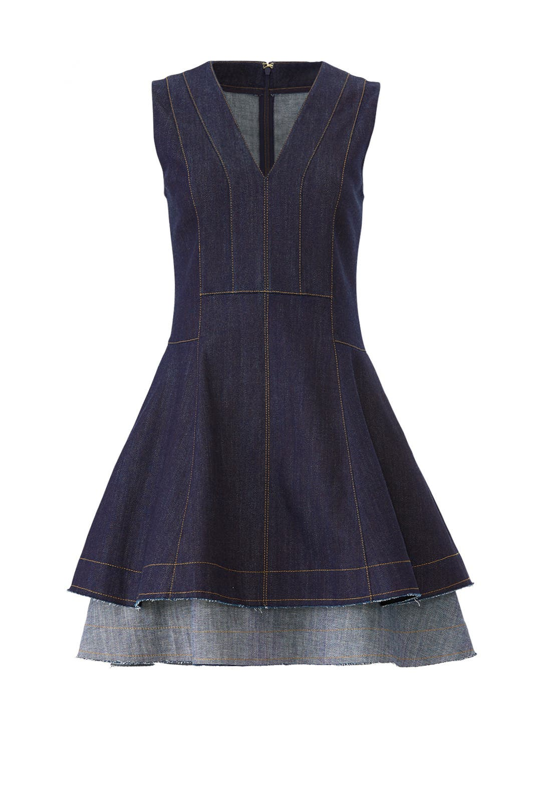 Denim Fit And Flare Dress By Derek Lam 10 Crosby For 70 The Runway