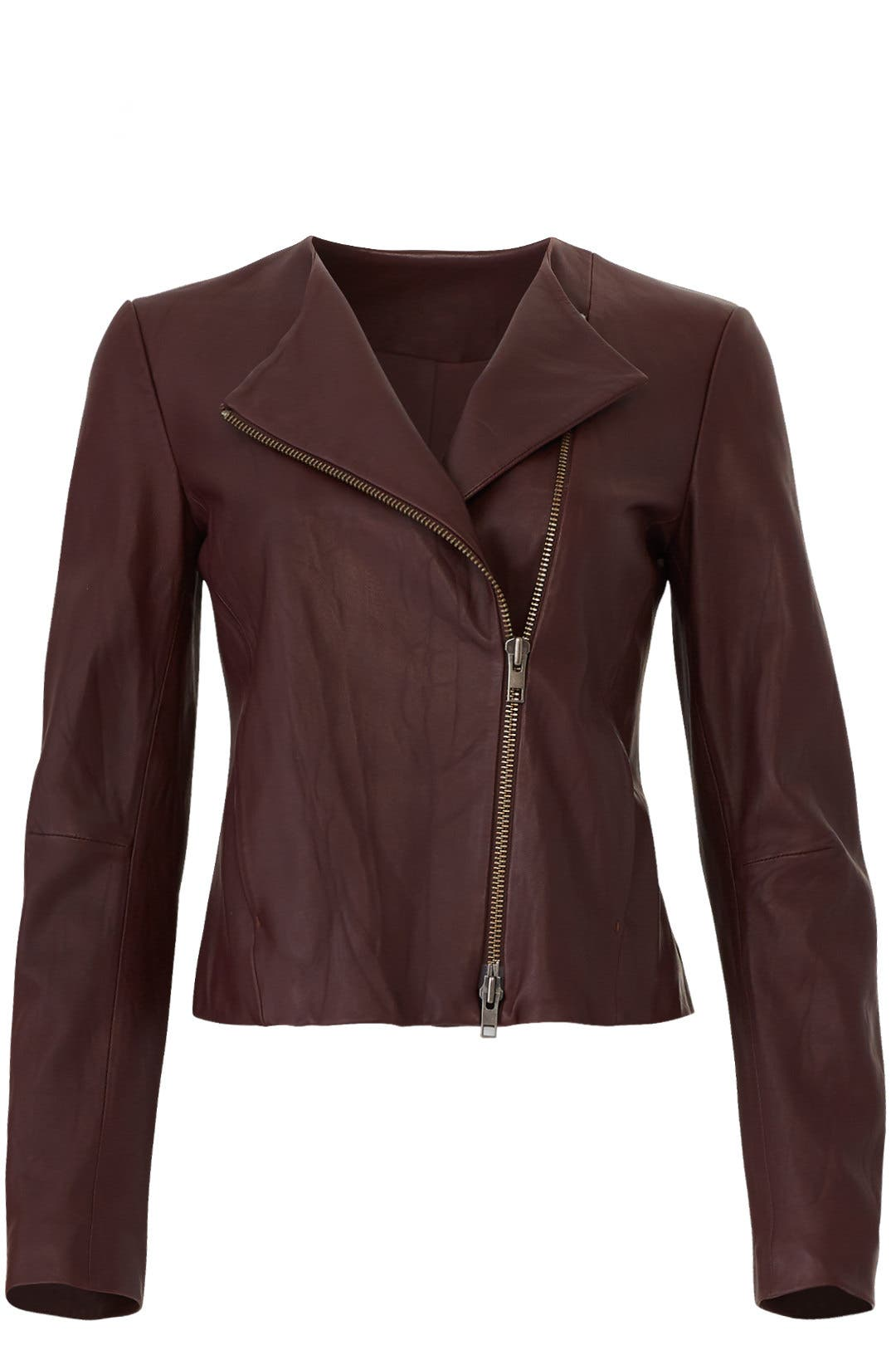 77c999bc5 VINCE. Cross Front Leather Jacket