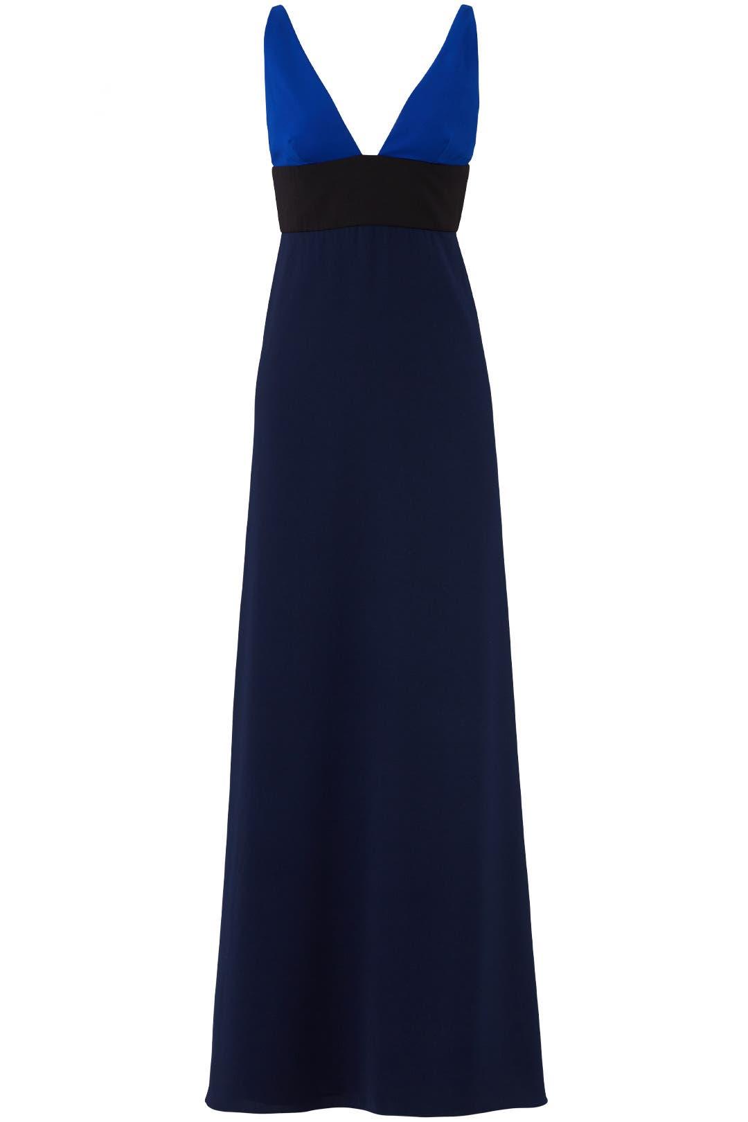 Midnight Blue Gown by Jill Jill Stuart for $50 - $70   Rent the Runway