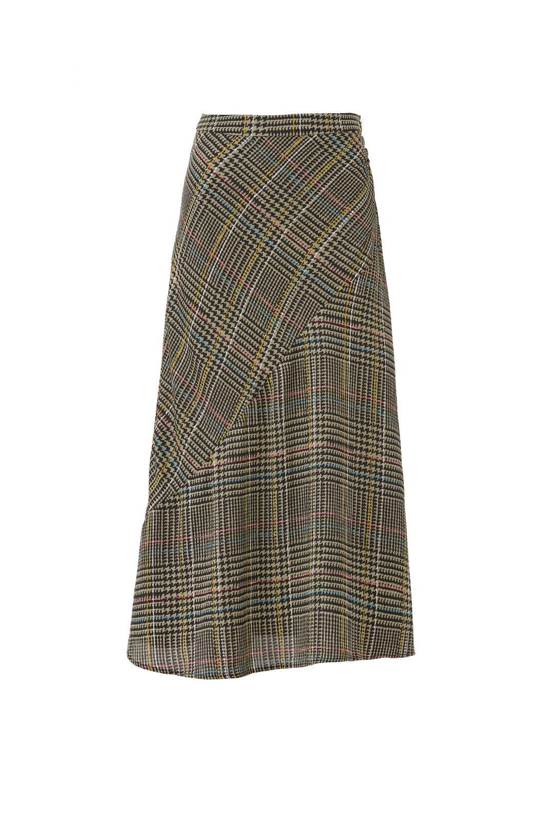 9a5de5abb Plaid Marsha Midi Skirt by ASTR for $30 | Rent the Runway