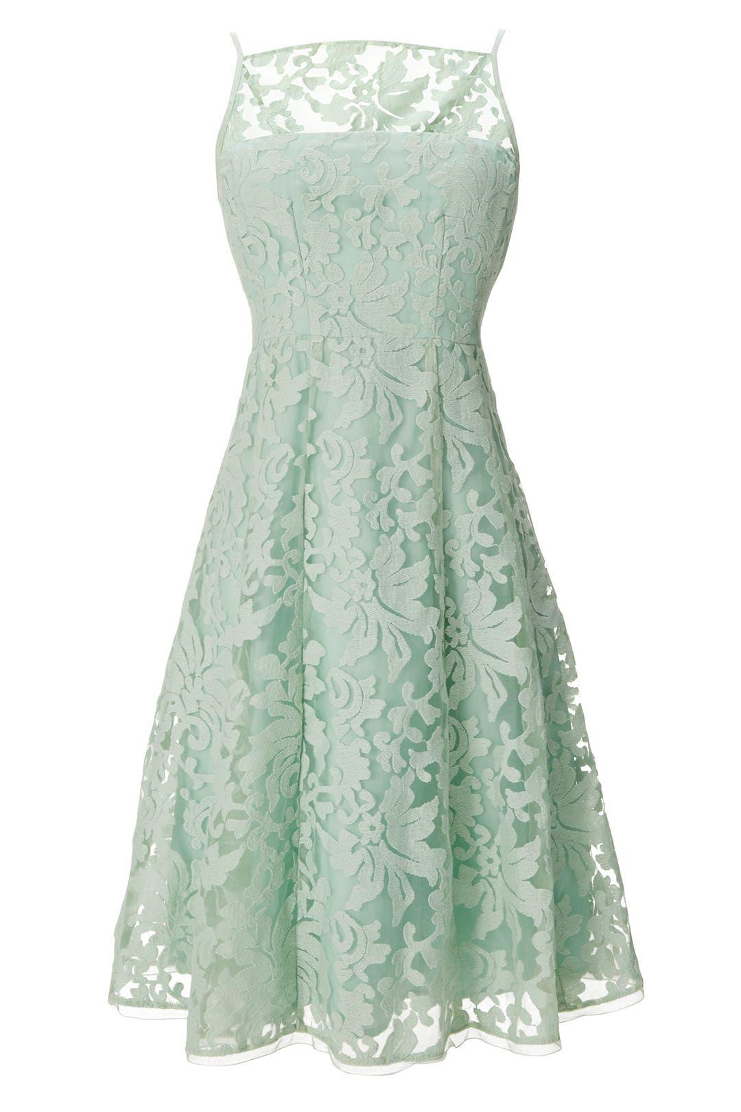Spearmint Alina Dress by Nanette Lepore