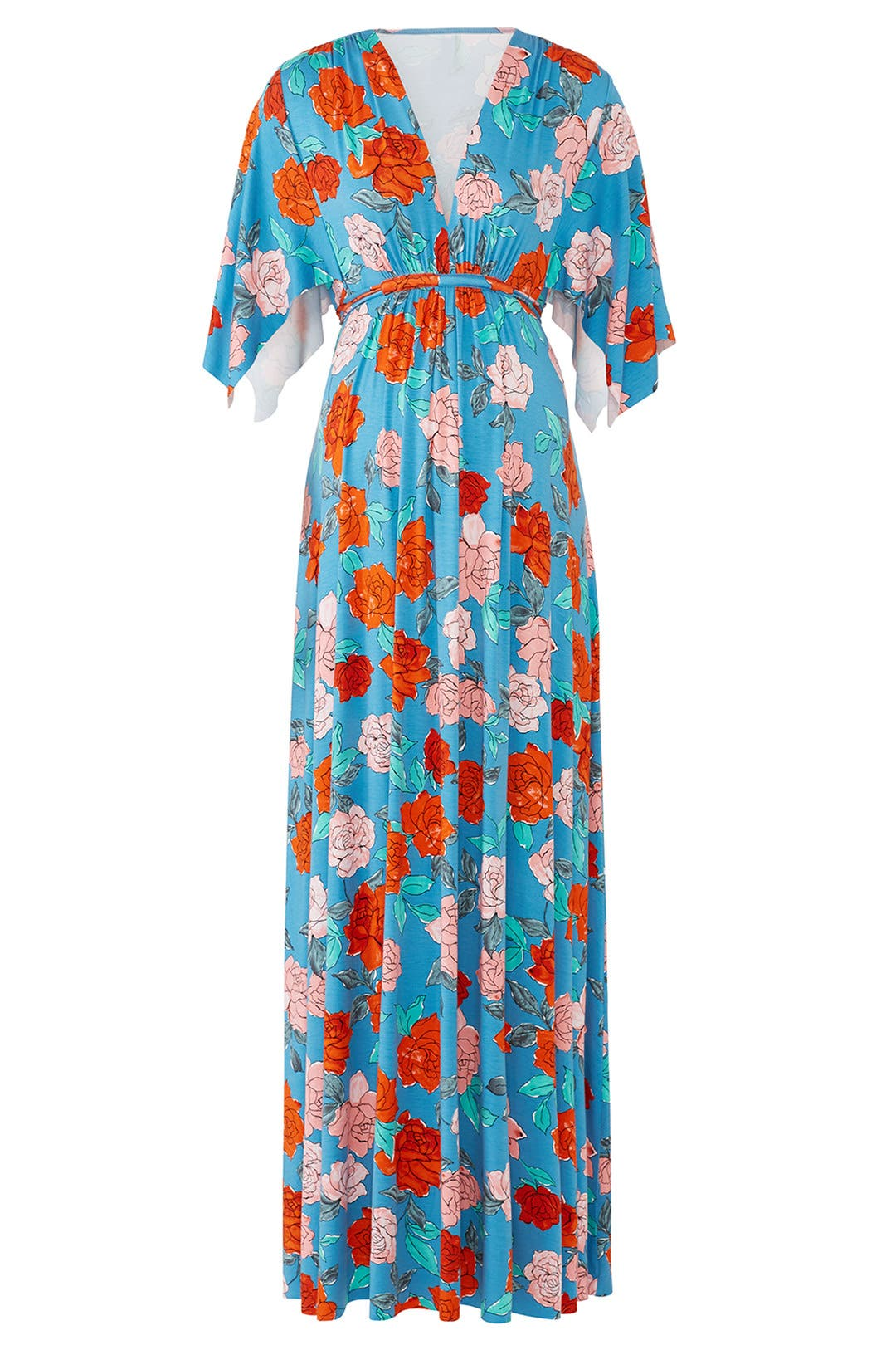 Blue Rose Maternity Maxi By Rachel Pally For 40 Rent The Runway